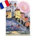 フランス製ポストカード(Cats Street)