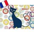 フランス製ポストカード(Miaou!)