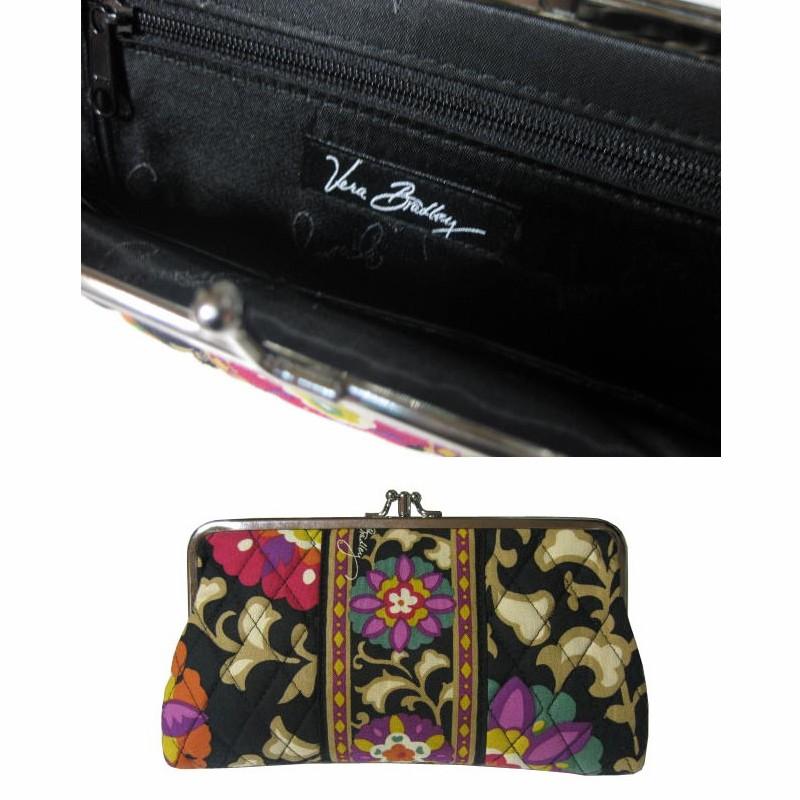 Vera bradley suzani frame bag