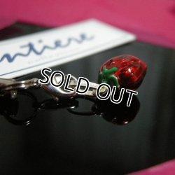 画像2: 【イタリア製】【SILVER925】 entiere エナメル加工のキュートなツヤ感 コロンとしたイチゴが可愛いストラップ♪シルバー925【ラッピング無料】