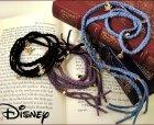 他の写真1: 【限定生産品】[Disney/ディズニー]アリスチャーム付き紐ブレスレット/スワロフスキー/ラップブレスレット