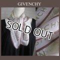 ※訳あり【Givenchyジバンシー】素敵なシルクスカーフ