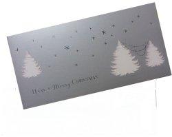 画像3: イギリス直輸入シルバークリスマスカード(message: ...AND A Happy NEW YEAR)
