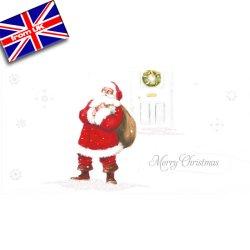 画像1: イギリス直輸入クリスマスカード(message: ...and a happy New Year)