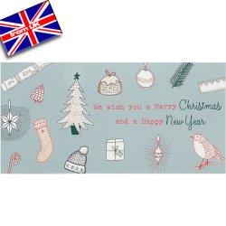画像1: イギリス直輸入クリスマスカード(message:Have a great time!)