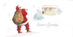 画像2: イギリス直輸入クリスマスカード(message: ...and a happy New Year)