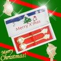 クリスマスギフトにも♪サンタクロースのスプーン2本セット