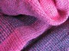 他の写真2: 【秋冬ストール】ウォーム感のある色味とソフトな温もりのウールタッチ♪シンプル格子織り模様超大判ストール